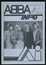 ABBA - ABBA Info - Dutch Fanclubmagazine No.12