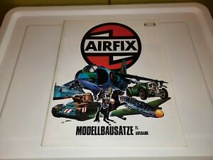 VINTAGE 1974 AIRFIX MODEL HOBBY KIT CATALOG COLLECTION SHIPS PLANES CARS TANKS