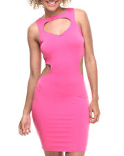 NWT Baby Phat Women's Pink Open Back Dress Size Large L