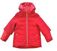 HERNO junior giubbotto piumino con cappuccio bitex bambina GC0015G39601 rosso