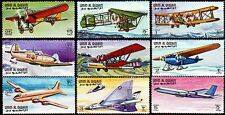 Umm Al Qiwain 1968 ** mi.296/304 a aerei Airplane Aircraft Boeing Fokker