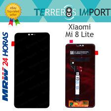 "Pantalla Completa LCD Original para Xiaomi Mi 8 Lite Negro 6,26"""
