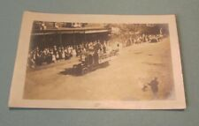 1919 Public Health Nurse Parade Float RPPC Real Photo Postcard Brookville PA