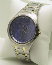 Accurist Gents Celestial Timepiece Blue Dial Bracelet Watch GMT117USA RRP £350