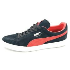 Puma Men's Suede Classic Size 13 Black and Red Shoes