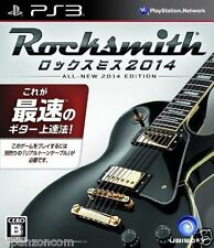 Used PS3 Rock Smith 2014  SONY PLAYSTATION 3 JAPAN JAPANESE IMPORT