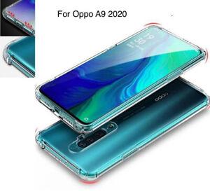 Oppo A9 2020 Air Cushion Silicone Clear TPU Back Case