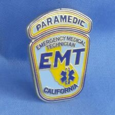 """CALIFORNIA PARAMEDIC PIN..1"""" Size. Two Pin Back Attachments"""