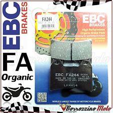 PASTIGLIE FRENO ANTERIORE ORGANIC EBC FA244 APRILIA RS REPLICA 250 1998-2003