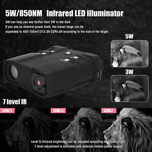 NV‑FHD300 Night Vision Binoculars Infrared Thermal Camera Support Photos /Videos