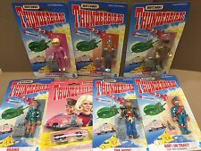 MATCHBOX THUNDERBIRDS ACTION FIGURE DIE CAST CAR LOT OF 7 1992