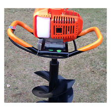 63CC Petrol Post Hole Ground Drill Digger Motor Engine Earth Auger Fence Borer