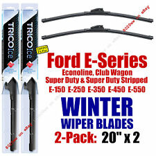 WINTER Wipers 2-Pack Premium Grade fit 1998-2015 Ford E-Series Econoline 35200x2