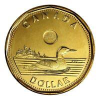 2014 1 Dollar 💰 Canada Coin Loonie, $1, 2014