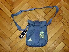 Real Madrid Soccer Messenger Bag Adidas Football RMCF Spain BNWT