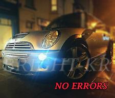 MINI COOPER R50 R52 R56 LED SIDELIGHT BULBS COOL WHITE ERROR FREE SIDE LIGHTS