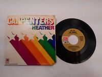 The Carpenters top of the World Heather 45 RPM A&M Records