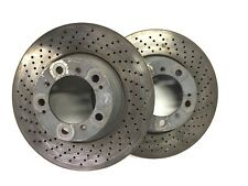 ORIGINALI PORSCHE 996 Turbo DISCHI FRENO ANTERIORI FRONT BRAKE DISC