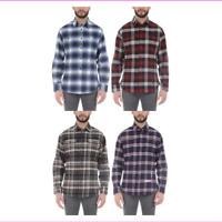 Jachs Men's Brawny Flannel Shirt  Long Sleeve