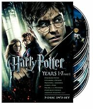 Harry Potter: Years 1-7, Part 1 (DVD, 2011, 7-Disc Set)