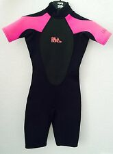 NEW BILLABONG LAUNCH - WOMEN'S SHORT-SLEEVED SPRINGSUIT - NEOPRENE FREE DELIVERY