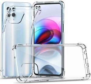 For Moto G10 G30 G9 E7i Plus Play G8 Power E6s Clear Case Cover + Screen Guard