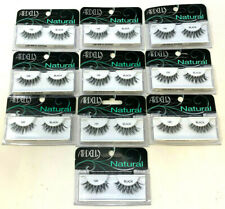 (10) pairs Ardell Natural Lashes Faux Eyelashes 120 - Black