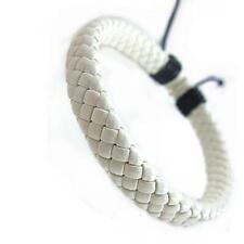 Faux Cowhide Hand Woven Bracelet Fashion Unisex Bracelet Retro Adjustable BL3