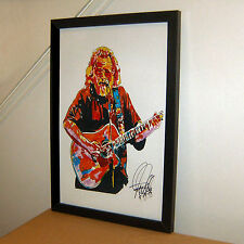 Jerry Garcia, Grateful Dead, Lead Guitar, Guitarist, Vocals, 11x17 PRINT w/COA4