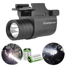 Tactical 15000LM LED 2Mode Gun Flashlight Pistol Light Rail Mount For Hunting US