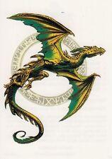 Temporary Tattoo, Dragon Tattoo, AGD234 01-12, fliegender Drache