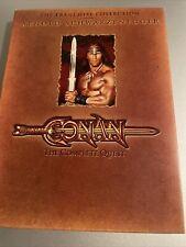 Conan The Complete Quest DVD The Franchise Collection Arnold Schwartzenegger