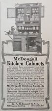 1905 AD(G24)~MCDOUGALL KITCHEN HOOSIER CABINET. INDIANAPOLIS, IND.