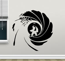 James Bond Logo Wall Decal Agent 007 Movies Vinyl Sticker Art Decor Mural 54zzz
