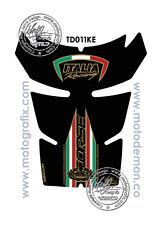 Ducati Corse 848 EVO 1098 1198 Depósito Gasolina Protector Negro