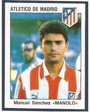 "PANINI FUTBOL 93-94 SPANISH -#068-ATLETIC DE MADRID-MANUEL SANCHEZ ""MANOLO"""
