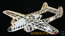 P-61 BLACK WIDOW HAT LAPEL PIN US ARMY AIR CORPS AIR FORCE WORLD WAR WW 2 WING