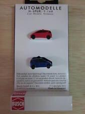 Busch - ref.8328 - 2 Mercedes clase A (rojo y azul)