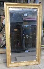 Miroir doré feuilles d'or rectangulaire