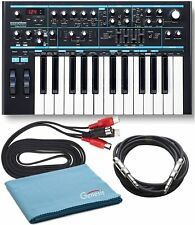 Novation Bass Station II Analog Synthesizer with Cables and Polishing Cloth