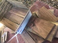 Scrap Black walnut boards - LARGE USPS Box filled - Various sizes