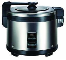TOYO Stainless Steel Heavy Duty Commercial  Rice Cooker 30 Cups 5.4L 1400W