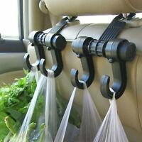 Universal Car Seat Headrest Hanger Bag Hook Holder for Bag Grocery Auto Clip New