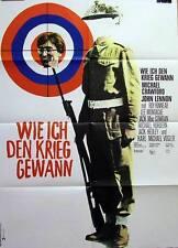 The Beatles HOW I WON THE WAR original vintage 1 sheet movie poster 1967 Lennon