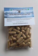 50 St Johns Wort Capsules 500 mg Antidepressant