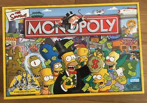 MONOPOLY- The Simpsons-2003