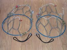 TIRE CHAINS SECURITY SCC WHITESTAR  #WS-1312,  225/60-15, 205/75-15, 225/50-15,