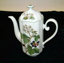 Kaffeekanne Seltmann Weiden Gloria Waldbeere Kanne Porzellan 1,2 Liter (P-299)