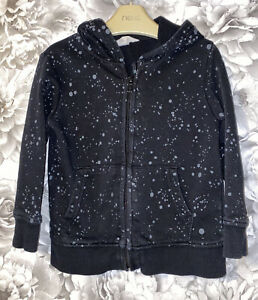 Boys Age 2-4 Years - H&M Hooded Zip Up Sweater Top