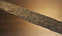 edelsteine24    Pyrit Strang fac. Linsen 2,80 mm 1A Qualität   40cm  Pyr-b1